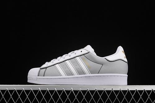 Ad Superstar AJ7922 贝壳头帆布休闲运动板鞋