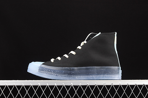 Converse Chuck Taylor All Star 1970s 环保系列透明果冻底高帮休闲帆布鞋 171662C