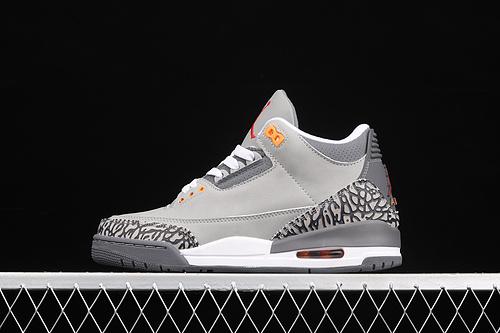 "G版 Air Jordan 3""Cool Grey""AJ3 乔3灰狼 CT8532-012"