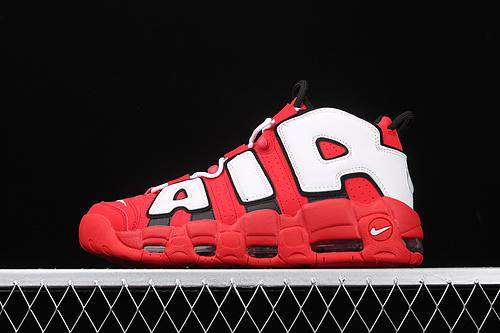 "Nk Air More Uptempo 96 QS Hoop Pack皮蓬初代系列经典高街百搭休闲运动文化篮球鞋""红白黑公牛""CD9402-600"