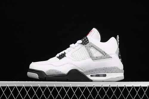 款 Air Jordan 4 White Cement AJ4 乔4白水泥 白灰 840606-192