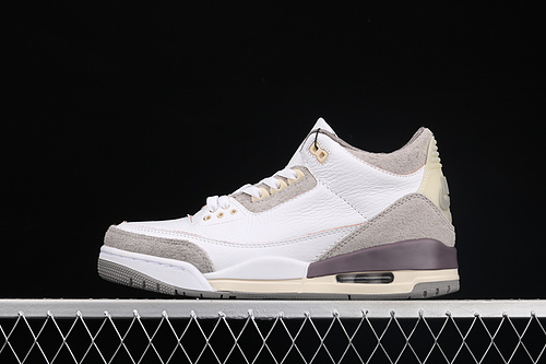 L版 A Ma Maniére x Air Jordan 3 AJ3 乔3联名款 篮球鞋 DH3434-110