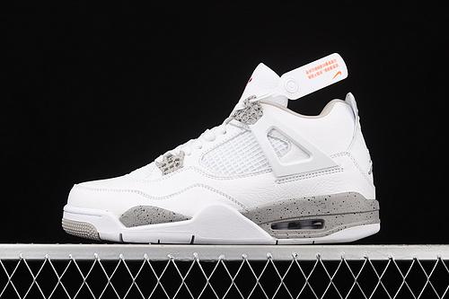 """J版 Air Jordan 4""""White Oreo""""AJ4 乔4白奥利奥 头层真标 CT8527-100"""