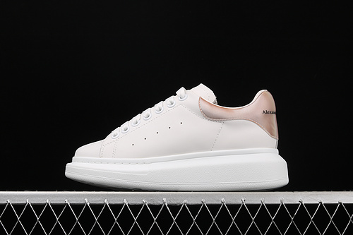 Alexander McQueen/亚历山大麦昆 松糕鞋厚增底高小白鞋 2020新款