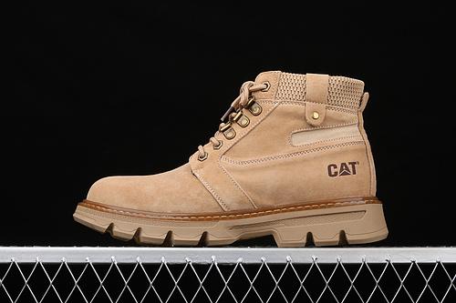 CAT FOOTWEAR/ CAT 工装休闲复古潮鞋系列 P720228卡其