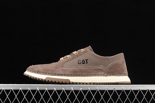 CAT FOOTWEAR/ CAT 卡特21SS秋季新款复古潮鞋系列休闲板鞋 P720536浅咖