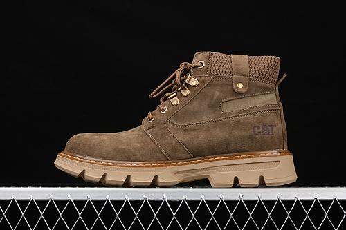 CAT FOOTWEAR/ CAT 工装休闲复古潮鞋系列 P720228咖色