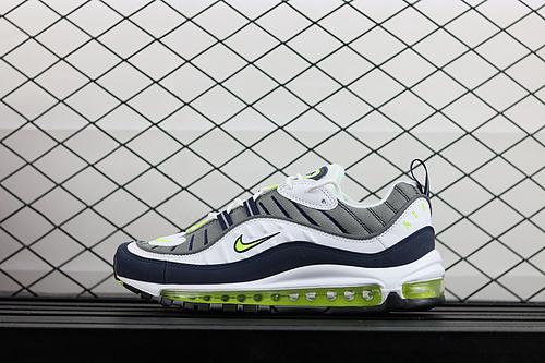 "¥130 Nike Air Max 98 ""Tour Yellow""复古运动全掌气垫跑鞋 640744-103"