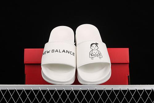 New Balance x Noritake 联名款居家休闲拖 SWF200NW