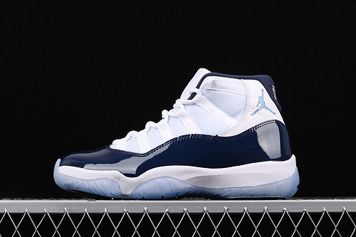 "ST版本 Air Jordan AJ11""Win Like '82""乔11午夜蓝 AJ11乔治城 原装标 真碳纤 篮球鞋 378037-123"