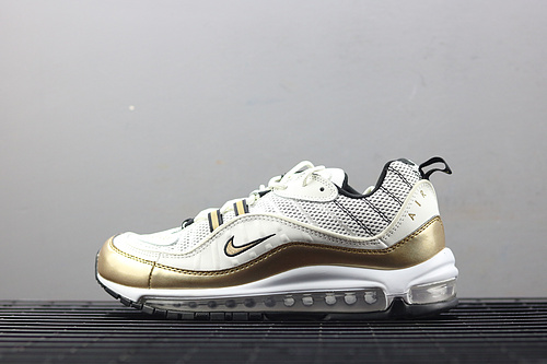 ¥130 Nike Air Max UK 98 反光气垫跑步鞋 AJ6302-100