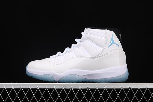 X版 Air Jordan 11 Bred  AJ11 乔11传奇蓝 真标 真碳纤 篮球鞋 378037-117