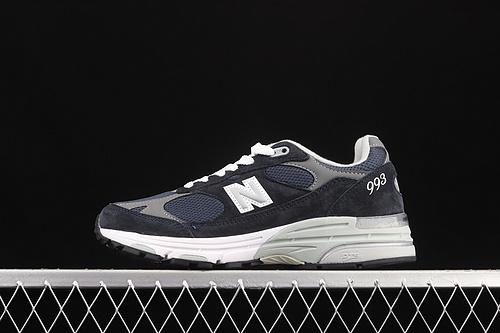 New Balance NB Made In USA M993系列美产血统经典复古休闲运动百搭老爹跑步鞋 WR993NV