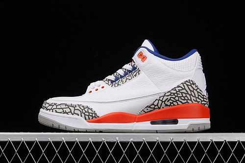 "Air Jordan 3 Retro""Knicks""AJ3 乔3尼克斯配色 136064-148"