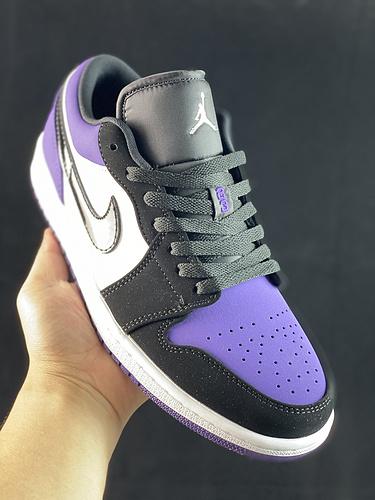 X版 Air Jordan 1 Low AJ1 乔1 低帮文化休闲运动板鞋 553558-125
