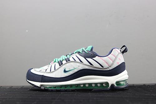 ¥130 Nike Air Max 98 复古全掌气垫跑鞋 640744-005