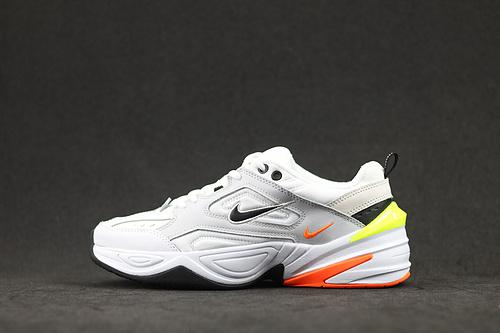 Nk M2K Tekno 耐克白黄橘配色复古运动老爹鞋 AV4789-004