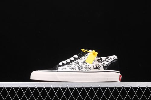 Vans Old Skool 万斯安纳海姆经典系列大熊猫低帮休闲板鞋 VNOA3023W33