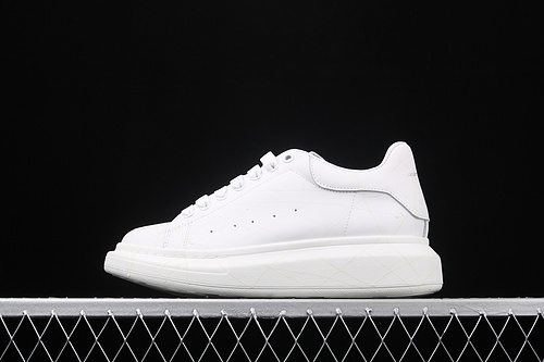 Alexander McQueen Sole sneakers 高奢品牌麦昆厚底休闲运动小白鞋