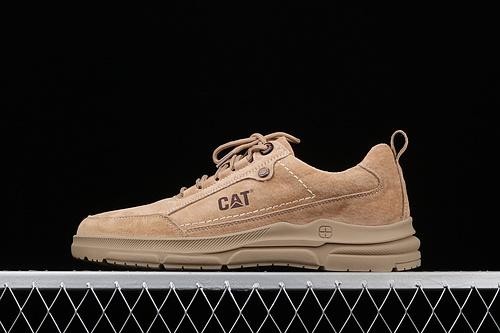 CAT FOOTWEAR/ CAT 工装休闲复古潮鞋系列 P716598卡其