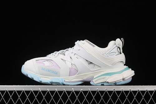 Balenciaga Sneaker Tess s.Gomma Res BI ALV/TIS EFF NUBUK/TIS E 巴黎世家2020最新配色潮流跑鞋 W3AC49045
