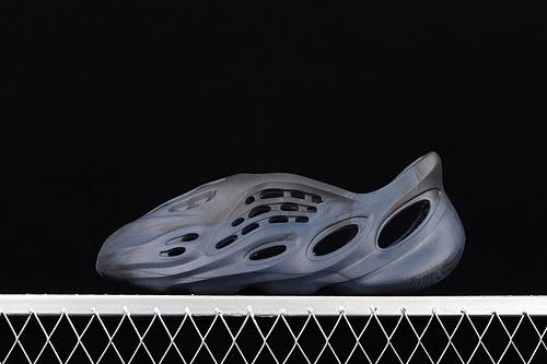 "C版 Ad Yeezy Foam Runner""Ararat""GV7903 一体注塑成型椰子洞洞鞋 全黑色"