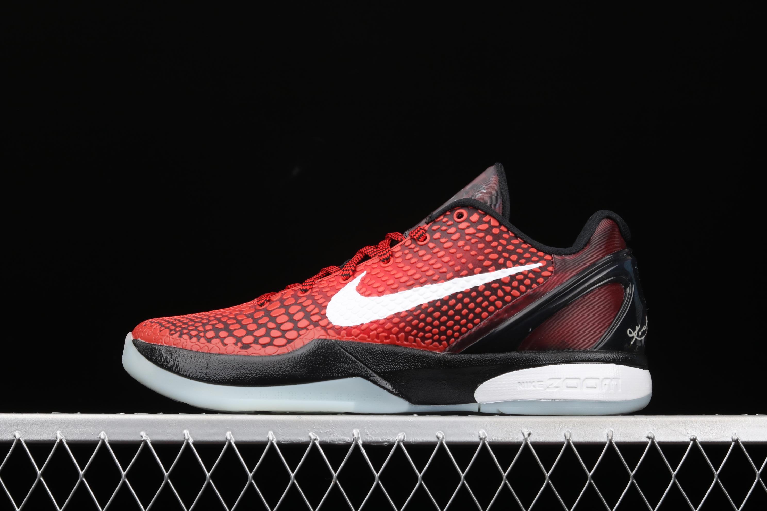 纯原版本 Nk Kobe VI Protro 6 科比6代 全明星 男子实战篮球鞋 448693-600