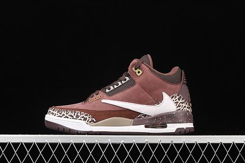 Air Jordan 3 SE DenimAJ3 乔3倒钩卡其棕 头层篮球鞋 626988-018