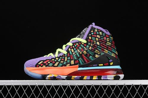 Nk LeBron 17 LMTD EP 勒布朗·詹姆斯17代签名战靴室内实战高帮运动飞织篮球鞋 BQ3177-900