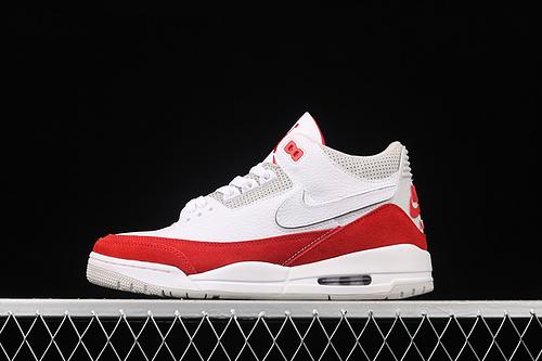 "G版 Air Jordan 3 Retro""Tinker""白红换勾 头层真标 CJ0939-100"