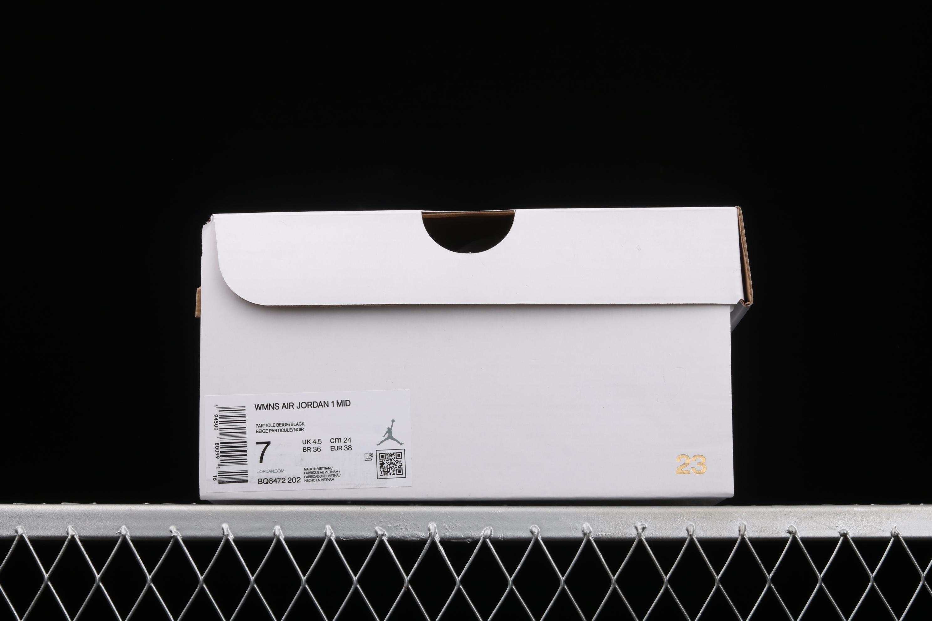 G版纯原 Air Jordan 1 Mid AJ1 乔1红豆奶茶 中帮篮球鞋 BQ6472-202
