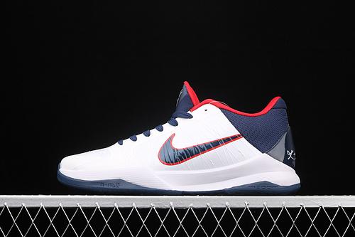 "Nk Zoom Kobe V Protro""白蓝红""科比5 2020复刻低帮运动篮球鞋 386429-105"