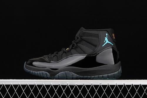 X版 Air Jordan Retro 11 Gamma AJ11 乔11伽玛蓝 黑蓝 真标 真碳纤 篮球鞋 378037-006
