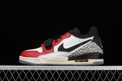 Air Jordan Legacy 312 Low 合体芝加哥配色 低帮篮球鞋 CD7069-106
