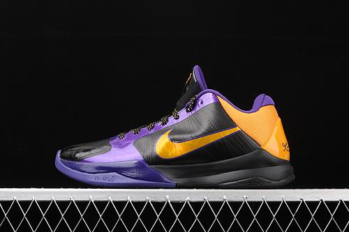 纯原版本 Nk Zoom Kobe 5 Protro 科比5 元年紫金 低帮运动篮球鞋 386430-071