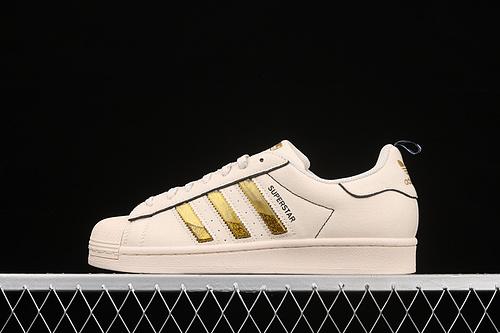 Ad Superstar GX7916 贝壳头帆布休闲运动板鞋