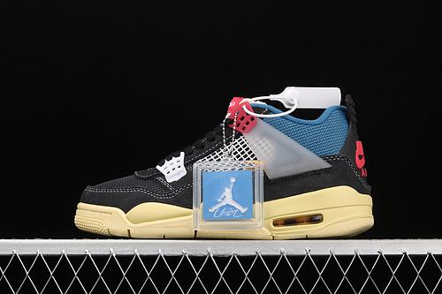 新版本 Union x Nk Air Jordan 4 AJ4 乔4联名款 篮球鞋 DC9533-001