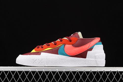 性价版本 Sacai x Nk Blazer Low 耐克全新联名开拓者低帮休闲板鞋 DM7901-600