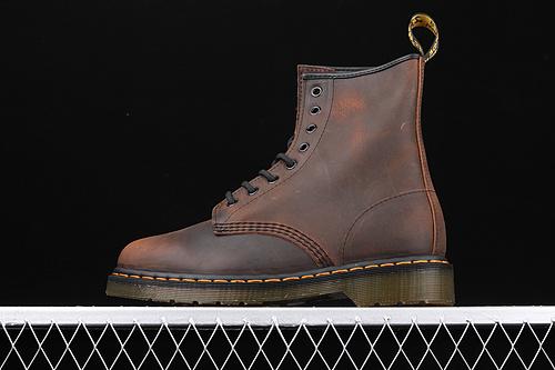 Dr.martens 马丁靴 1460系列 代工厂正品订单 八孔高邦 R11822002