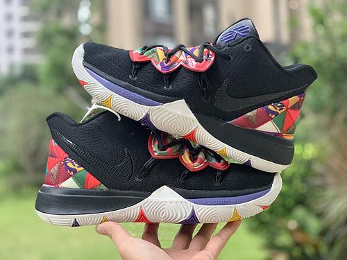欧文5中国年 Nike Kyrie 5 欧文5 CNY中国年 百家衣AO2919-010 尺码:39-46