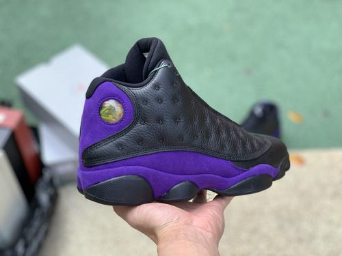 aj13黑紫 3D猫眼Air Jordan 13 'Court Purple'dj5982-015