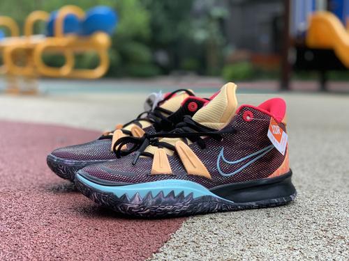 欧文7音乐主题 纯原版支持任何实战Nike耐克Kyrie 7 PH 欧文7音乐主题首发男子实战篮球鞋DC0589-002