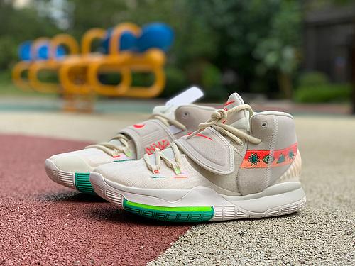 欧文6北美限定 纯原版Nike Kyrie 6 N7 耐克欧文6北美限定民族风篮球鞋CW1785-200