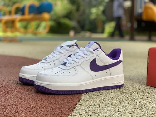 af1白紫low Nike air force 1 空军一号low 315122-281