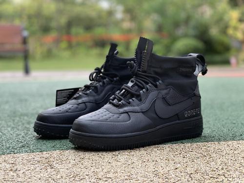 AF1防水黑魂 Nike Air Force 1 WTR GORE-TEX AF1高帮防水空军 cq7211-003