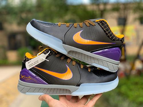 科比4黄蜂 Nike Kobe 4 Protro ZK4 科比4黄蜂篮球鞋AV6339-001 尺码:39-46