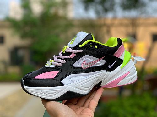 M2K黑粉 Nike女款M2K TEKNO黑 ROSE黑/银色/粉色 CI5772-001 尺码:36-40