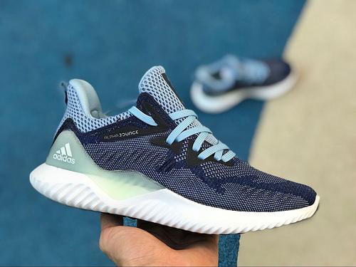 阿尔法 烟灰蓝 adidas阿迪达斯 alphabounce beyond Bounce跑步鞋DB0205 尺码:36-39