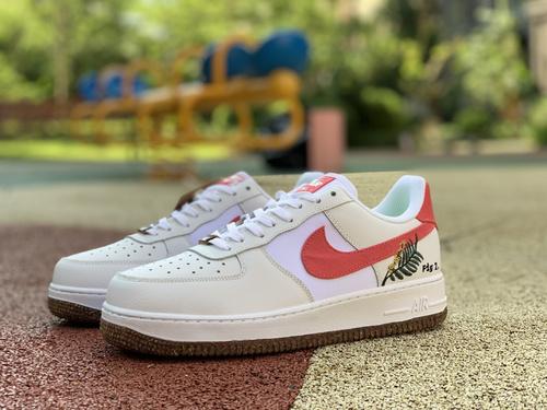 af1植物白粉 nike 耐克 2021秋季 AF1空军一号运动鞋休闲鞋板鞋 CZ0269-101