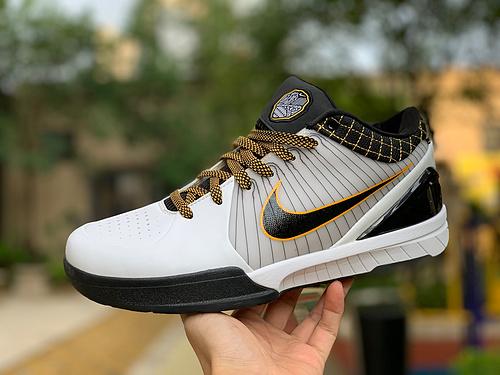 科比4季后赛 Nike Kobe 4 Protro ZK4 科比4 选秀日牛年季后赛 AV6339-001-101  尺码:40-47.5
